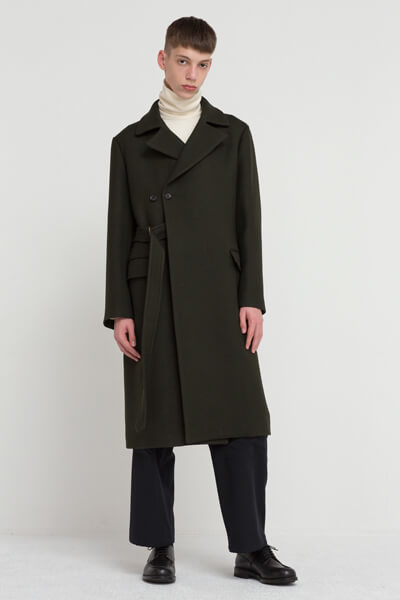 2 WAY BELTED ULSTER COAT