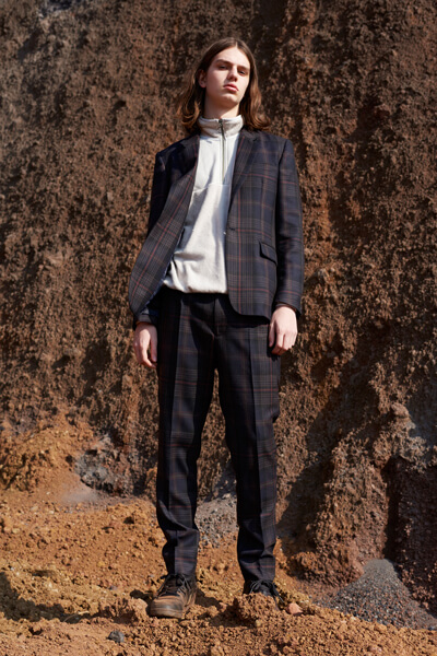 DADDY CHECK CLASSIC JKT & TROUSERS